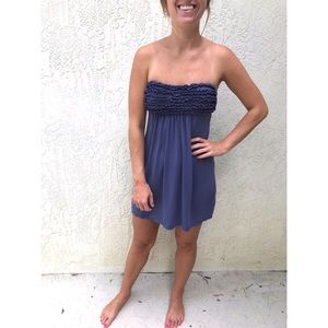 Victoria's Secret Strapless Beach Cover Up Dress